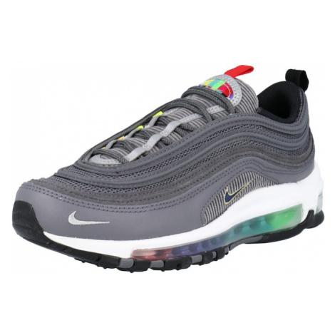 Nike Sportswear Nízke tenisky 'Air Max 97'  tmavosivá / svetlosivá / červená / čierna / biela
