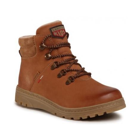 Šnurovacia obuv Lasocki Kids CI12-2949-01 Prírodná koža(useň) - Nubuk