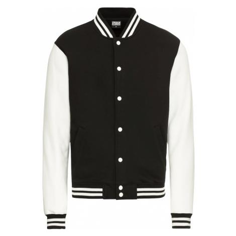 Urban Classics Prechodná bunda  biela / čierna