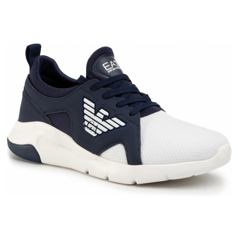 Sneakersy EA7 EMPORIO ARMANI - X8X056 XCC56 D813 Navy/White