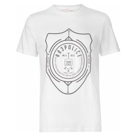 Triko 883 Police Ostend T Shirt White
