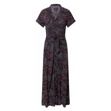 Iriedaily Košeľové šaty  zmiešané farby / slivková