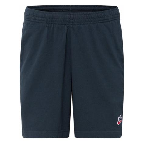 Nike Sportswear Nohavice 'Heritage'  tmavomodrá