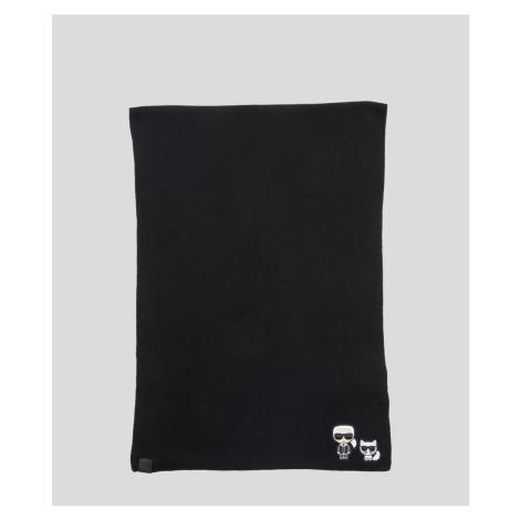 Šál Karl Lagerfeld K/Ikonik Knit Scarf