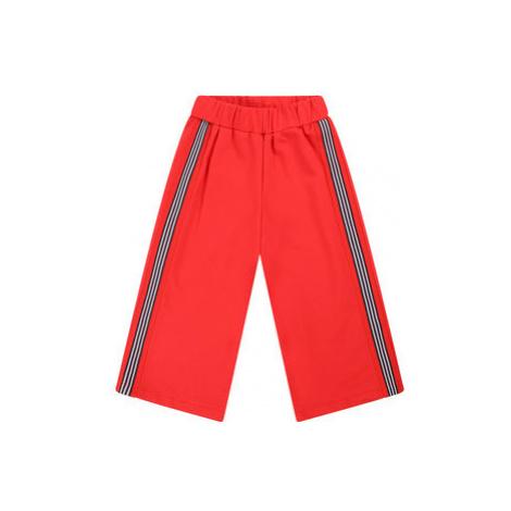 Primigi Bavlnené nohavice Happy Shopping 45122511 Červená Regular Fit