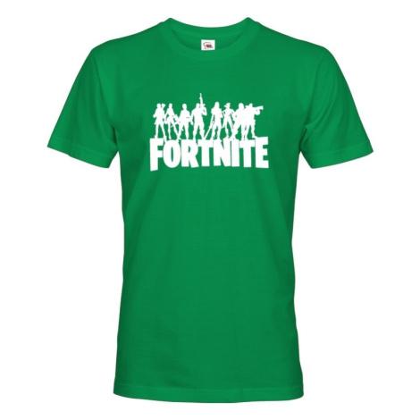 Pánske tričko s potlačou hry Fortnite - ideálne tričko pre hráčov