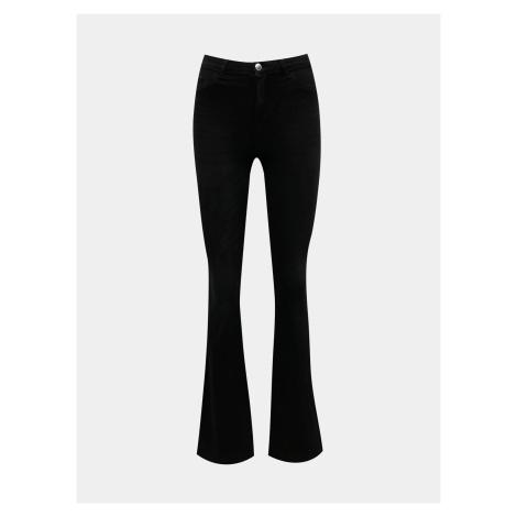 Čierne flared fit džínsy TALLY WEiJL