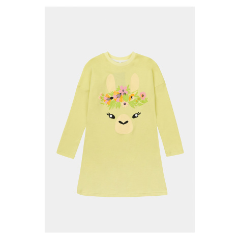 Dievčenská nočná košeľa Lama