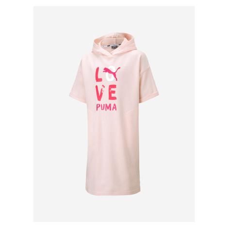 Šaty Puma Alpha Dress Růžová