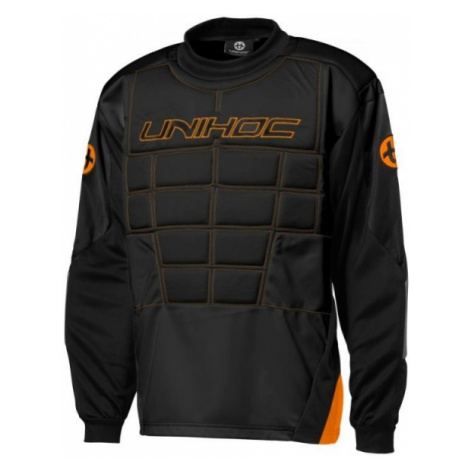 Unihoc GOALIE SWEATER BLOCKER JR - Brankársky juniorský dres