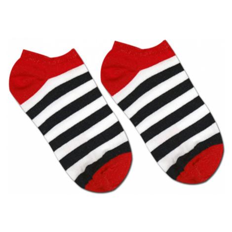 Ponožky členkové HestySocks STRIPES