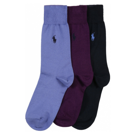 POLO RALPH LAUREN Ponožky 'MERCERIZED'  námornícka modrá
