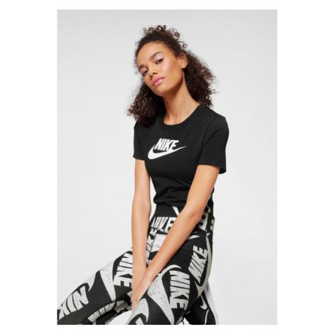 Nike Sportswear Košeľové body  čierna / biela