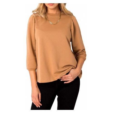 Svetlo hnedé dámske tričko Rue Paris