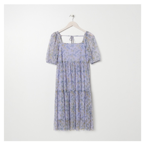 Sinsay - Vzdušné kvetinové šaty - Viacfarebná