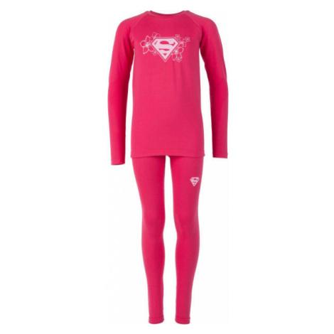 Warner Bros KIDS THERMO SET ružová - Detská funkčná termobielizeň
