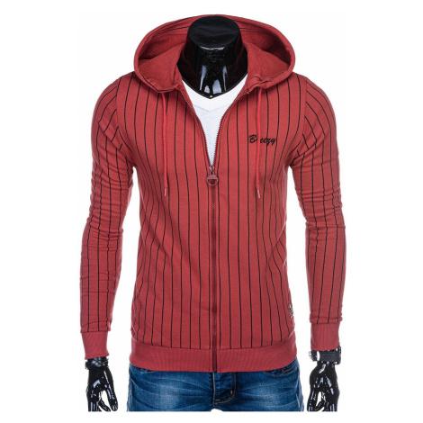 Edoti Men's zip-up sweatshirt B1038