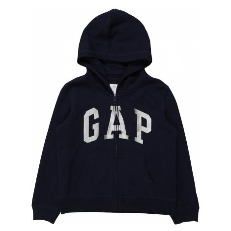 GAP Tepláková bunda  námornícka modrá