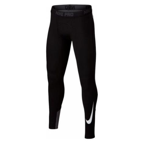 Nike WM TGHT GFX čierna - Chlapčenské športové legíny