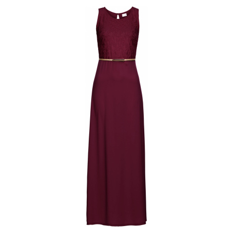 Maxi šaty s opaskom bonprix