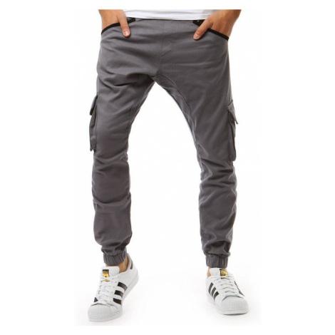 Pánske trendy sivé joggery ux1880