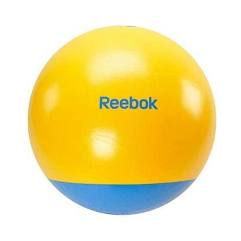 Gymnastický míč REEBOK 65cm - Two TONE - žluto-modrý Žlutá + purpurová