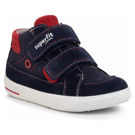 Sneakersy SUPERFIT - 0-606350-8000 S Blau/Blau
