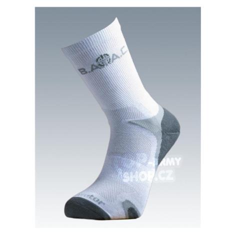Ponožky so striebrom Batac Operator - white