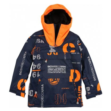 DC Shoes Outdoorová bunda 'ASAP'  čierna / sivá / oranžová