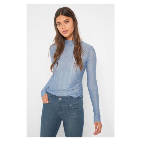 Čipkované tričko so stojačikom Orsay