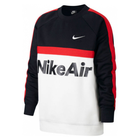 Nike NSW NIKE AIR CREW B čierna - Chlapčenská mikina