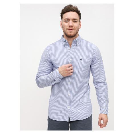 Bielo-modrá pruhovaná košeľa Selected Homme Collect