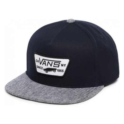 Vans Mn Full Patch Snapback Dress Blues/Navy-One size modré VN000QPUUL5-One size