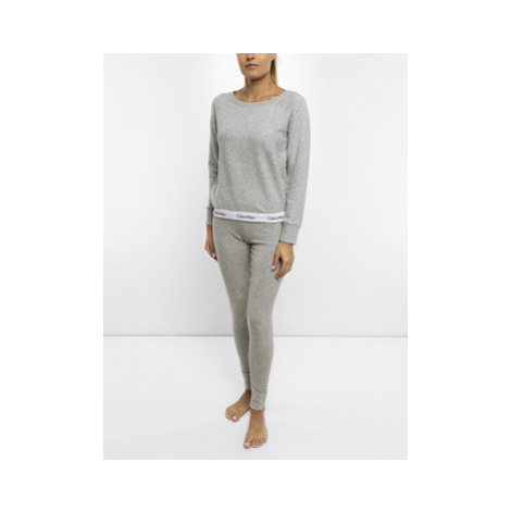 Calvin Klein Underwear Mikina Modern 000QS5718E Sivá Regular Fit