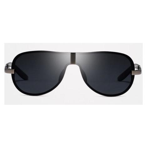 Polarizačné slnečné okuliare pilotky Arnold šedé