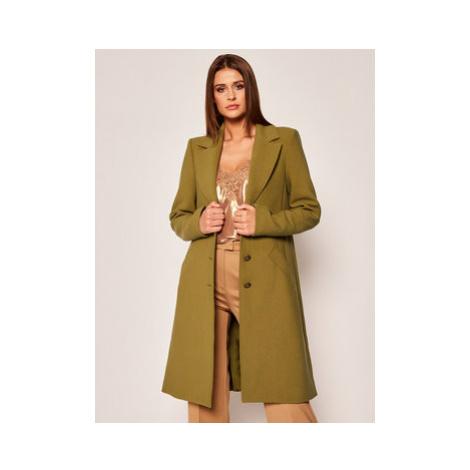 Patrizia Pepe Prechodný kabát 8S0262/A5J1-G479 Zelená Regular Fit