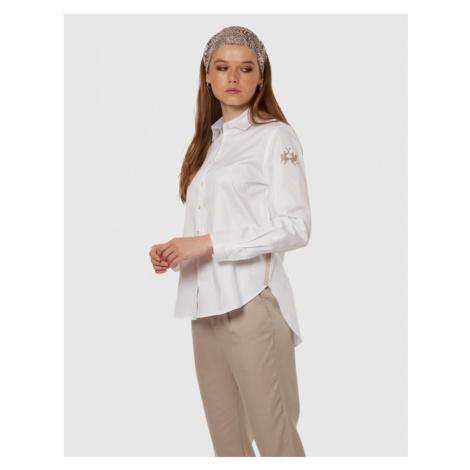 Košeľa La Martina Woman L/S Shirt Cotton Poplin