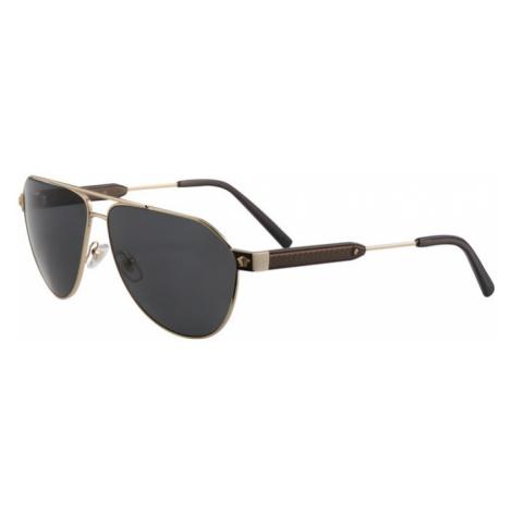 VERSACE Slnečné okuliare '0VE2223'  zlatá / čierna