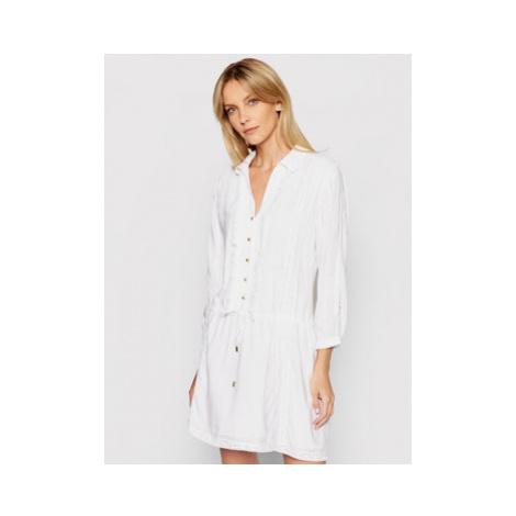 Melissa Odabash Košeľové šaty Scarlett CR Biela Regular Fit