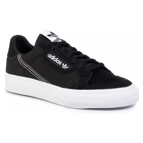 Topánky adidas - Continental Vulc J EF9451  Cblack/Ftwht/Cblack