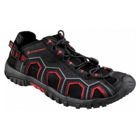 ALPINE PRO DORAM čierna - Pánska letná obuv