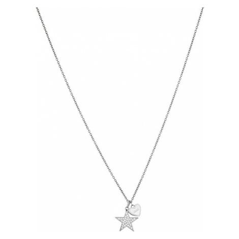 Liu.Jo Oceľový náhrdelník s hviezdičkou LJ1404