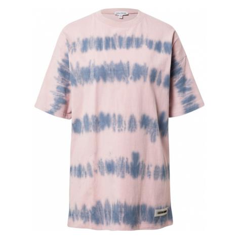 Public Desire Oversize tričko  ružová / modrá