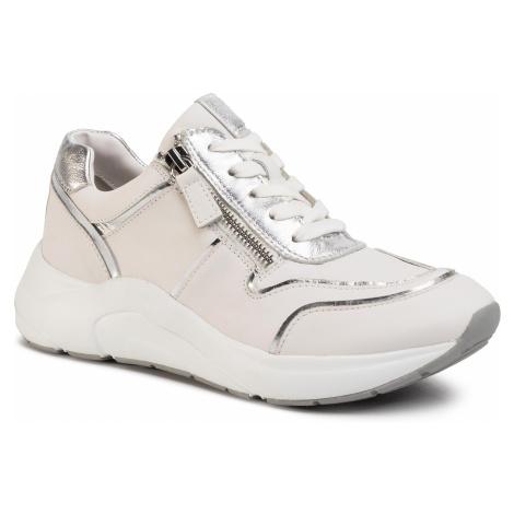 Sneakersy CAPRICE - 9-23704-24 White/Silver 191