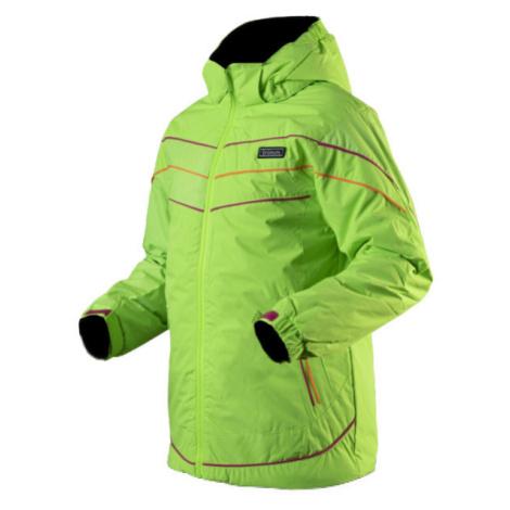 TRIMM RITA zelená - Dievčenská lyžiarska bunda