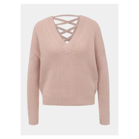 Tally WEiJL Light Pink Sweater