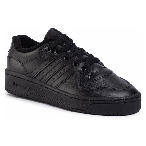 Topánky adidas - Rivalry Low J EG3637 Cblack/Cblack/Ftwwht