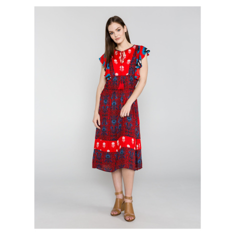 Šaty s krátkym rukávom Desigual