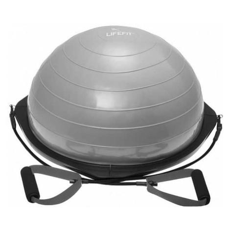 Balanční podložka LIFEFIT BALANCE BALL 58cm, stříbrná