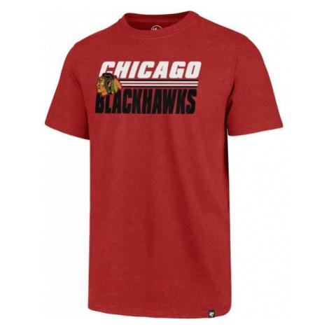 47 NHL CHICAGO BLACKHAWKS SHADOW CLUB TEE - Pánske tričko